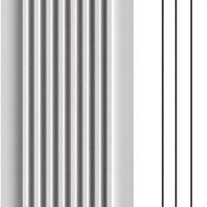#005616 Fluted Polyurethane Pilaster 2-7/8\