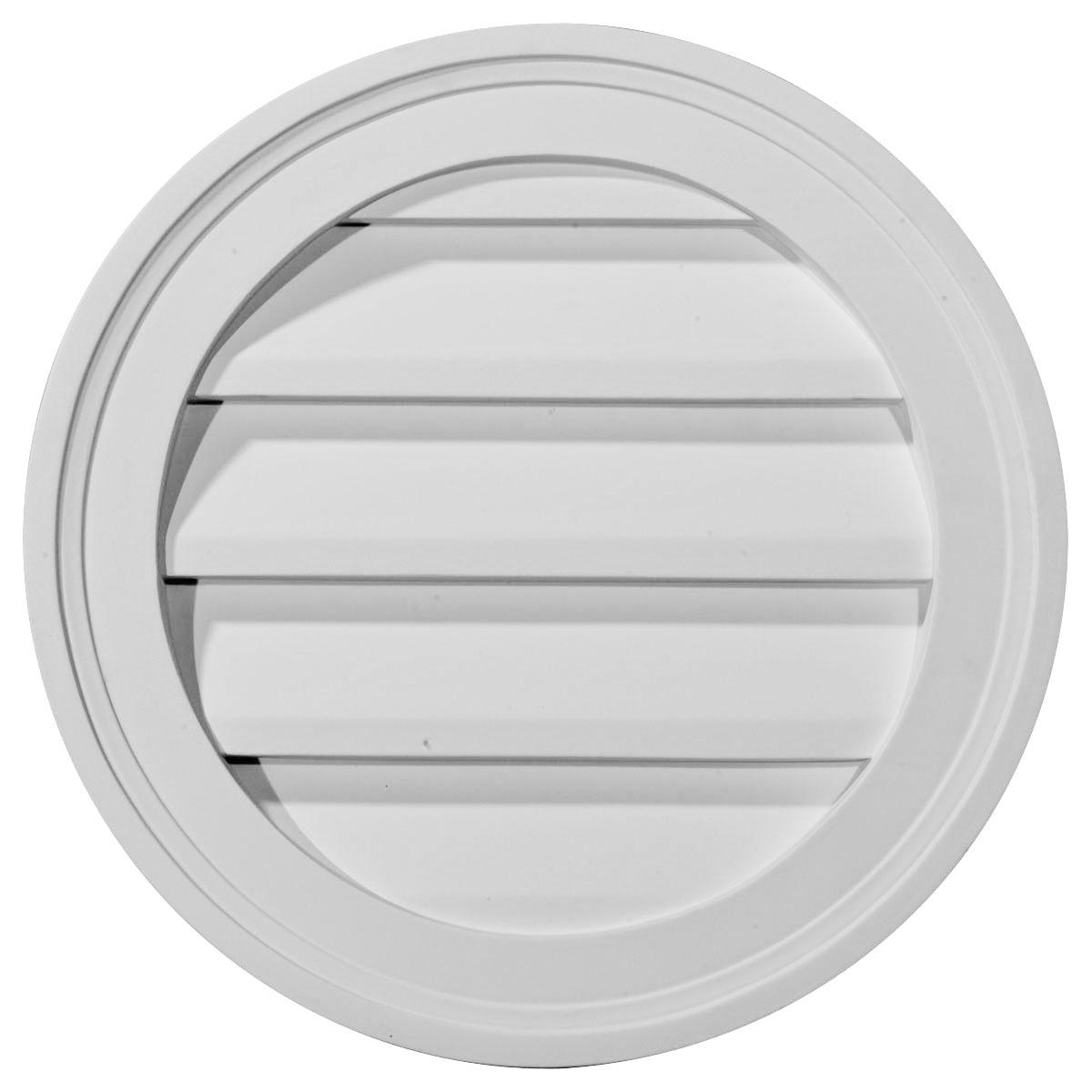 25% off gvro12d | ekena millwork | round gable vent louver,decorative