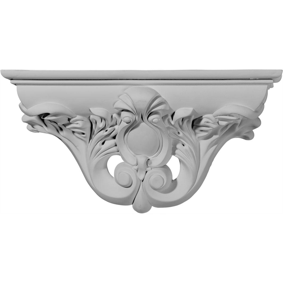 Decorative Corbel 25% off sh13x06x03hi | ekena millwork | hillsborough decorative shelf