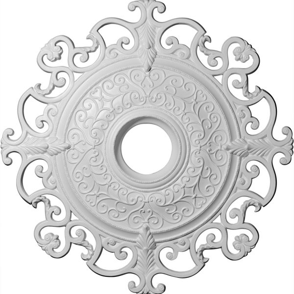 watch ceiling split youtube medallion medallions