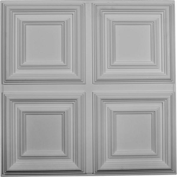 Ct24qa23 34w X 23 34h 1 58p Quatro Square Ceiling Tile Crown